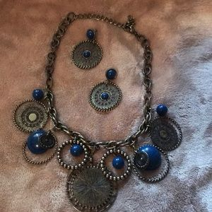 Premier Necklace and earrings